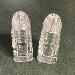Other - Glass salt and pepper shakers